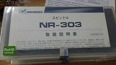 New Nakanishi Nsk Spindle Motor Nr-303 New In Box