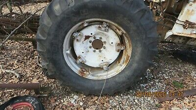 18.4 X 30 Tractor Tires And Spin Out Rims