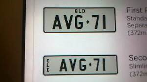 Valiant VG Number Plates Mount Lawley Stirling Area Preview