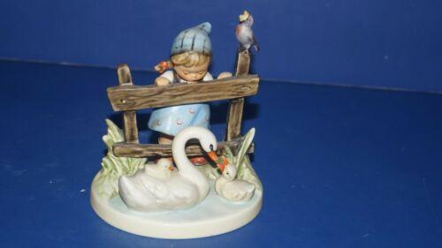 "HUMMEL GOEBEL "" FEATHERED FRIENDS "" TMK6 Figurine # 344 Made in West Germany"