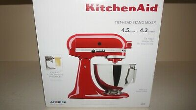New Kitchenaid KSM96ER Ultra Power Plus 4.5qt Tilt-Head Stand Mixer - Empire Red