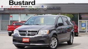2015 Dodge Grand Caravan SXT | DVD | Remote Start | One Owner