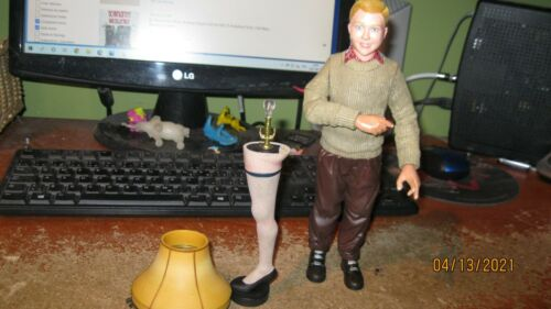 NECA 2003 A Christmas Story The Parker Action Figures    as-is  read