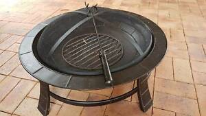 FIRE PIT STEEL - USED ONCE