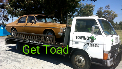Get Toad Towing Car Transport Free Car Removal.