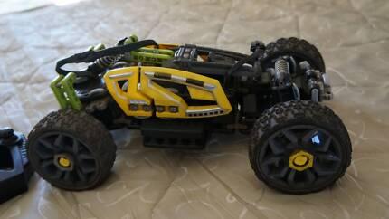 RC electric car. 7.2V LiIon 3 speed. LEGO 8369 DirtCrusher replic