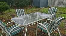 Free outdoor set garden 1 table 4 chairs Dianella Stirling Area Preview