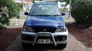 2002 Daihatsu Terios Wagon Grange Charles Sturt Area Preview