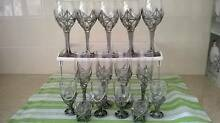Medieval Pewter Glasses - Set of Flutes,Shots,Ports and Wine (13) Macquarie Fields Campbelltown Area Preview