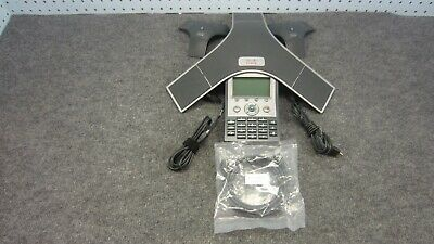 Cisco Cp-7937g Ip Display Conference Phone W 2 External Conf Microphone