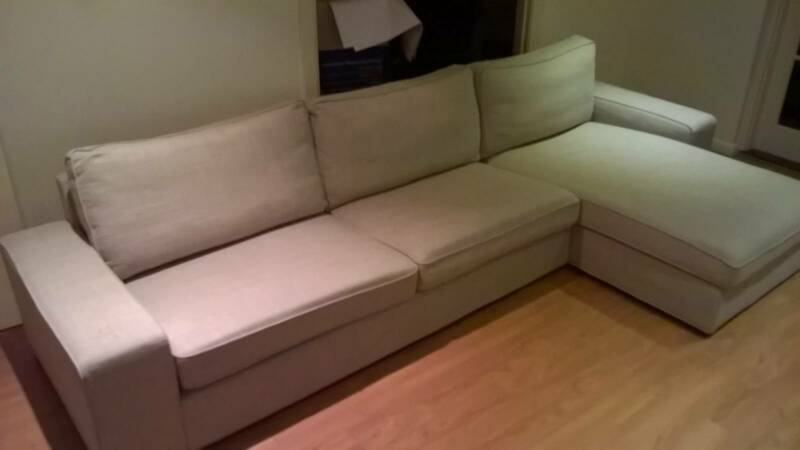 IKEA LOUNGE KIVIK 4 seater with chaise Sofas