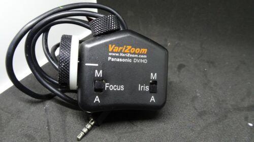 VariZoom VZPFI Lens Camera Control Panasonic DV/HD
