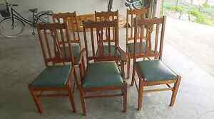 Silky oak chairs Sumner Brisbane South West Preview