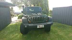 Jeep wrangler jk Modbury Heights Tea Tree Gully Area Preview