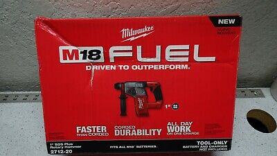Milwaukee 2712-20 M18 Fuel 1 Sds Plus Rotary Hammer - Tool Only