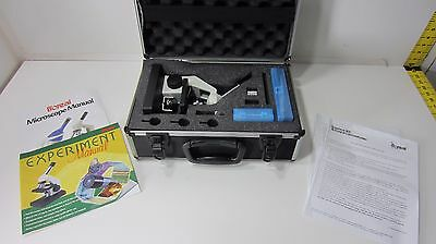Boreal Stereo Microscope Rotatable Head Stage Glass Plate Manual Slides Kit