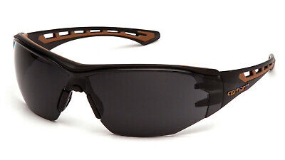 Carhartt Easley Graysmoke Anti Fog Lenses Safety Glasses Sunglasses Z87