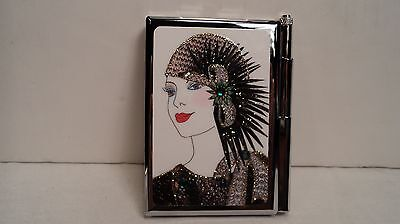 Personalized Expressions 1507 Flapper Girl Womens Note Pad Wpen
