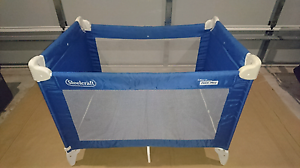 Steelcraft travel cot cots bedding gumtree australia for Big w portacot