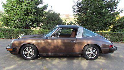 1974 Porsche 911S Rust Free, original interior, rebuilt motor, NO RESERVE!!!!!!!