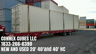 40ft High Cube One Trip Double Door Shipping Container Houston Texas