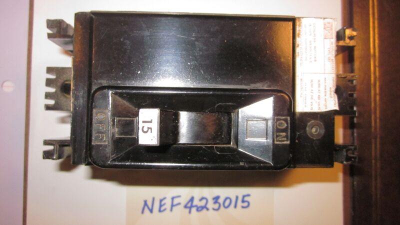 FPE NEF423015 2Pole 15A 480V used breaker