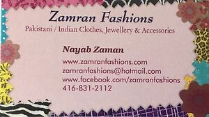 Pakistani/Indian clothing in Guelph/Cambridge/Kitchener