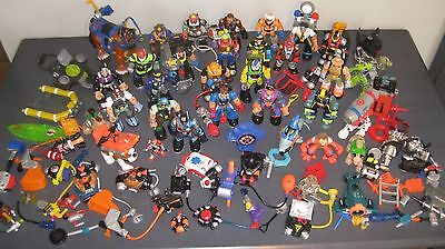HUGE Rescue Heroes Action Figures & Accessories Lot FREE SHIPPING