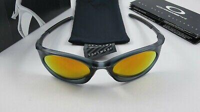 Oakley Eye Jacket 3.0 Crystal Black Fire Iridium+Box 04-320 NEW RARE