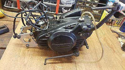 1973 73 HUSQVARNA WR125 WR motor cases bottom end crankshaft clutch OEM engine