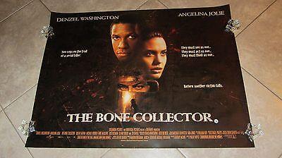 The Bone Collector movie poster, Angelina Jolie poster Denzel Washington poster