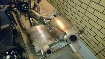 Fgx xr 6 Na exhaust.