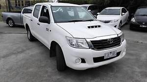 2011 Toyota Hilux Ute T DIESEL DUEL CAB Ravenhall Melton Area Preview