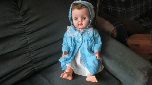 """1950s 20"""" Baby Doll with No Markings"""