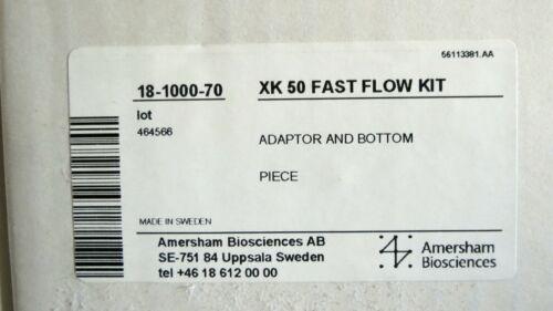 GE Amersham XK50 Fast Flow Kit 18-1000-70 XK 50 Chromatography