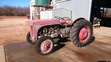 Massey Ferguson Ted20 tractor  Lyrup Renmark Paringa Preview