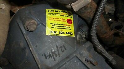 FIAT IDEA 350 1.3D Gearbox Mounting Rear 2004 on Corteco 46845347 51744337 New