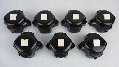 Großer DDR Bakelit Drehschalter Paketschalter 16A vintage LOFT Industriedesign