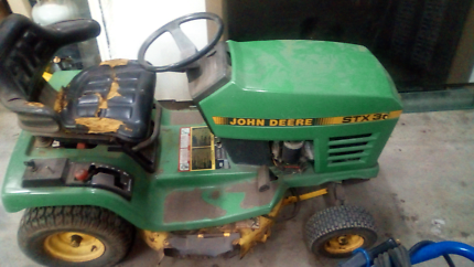 John deere stx30 ride on mower with spare parts