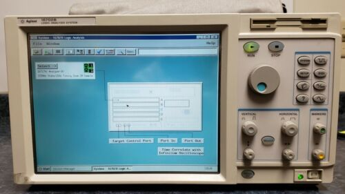 Agilent 16702B Logic Analysis System