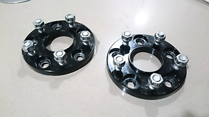 15mm Hub Centric Bolt On Wheel Spacers suit Nissan 5 Stud Meridan Plains Caloundra Area Preview