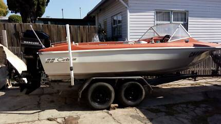Carribean Cougar 5.2m (17+ft) 80Merc