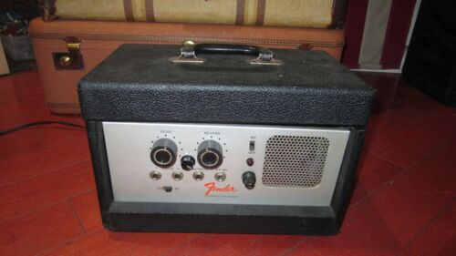 Vintage 1970s Fender Electronic Echo Chamber Delay Unit For Guitar For Repair
