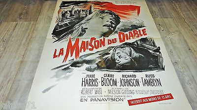 LA MAISON DU DIABLE the haunting ! r wize film affiche cinema epouvante 1963