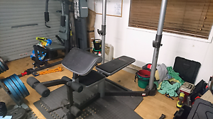 Bench press with preacher and leg extension Berkeley Vale Wyong Area Preview
