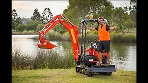 Mini excavator  dry hire $175 per day Wurtulla Maroochydore Area Preview