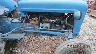 Naa Jubilee Ford Tractor Hydraulic Lines From Pump To Diff Housing