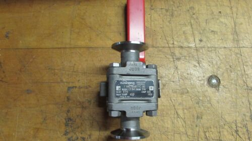 Flowserve Triclover Ball Valve- Stainless HO6, Used