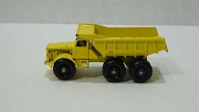 Matchbox Lesney   Euclid Dump Truck  #6