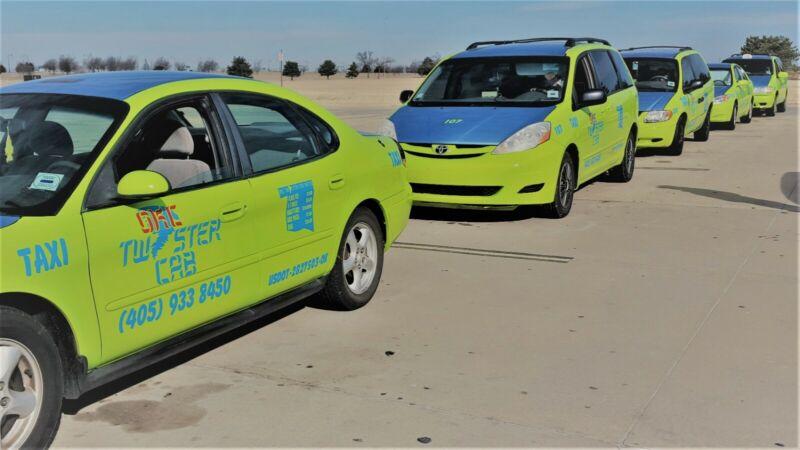 taxi company for sale [ OKC TWISTER CAB]